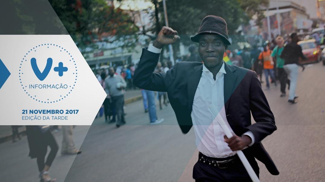 Zimbabué em festa no adeus a Mugabe