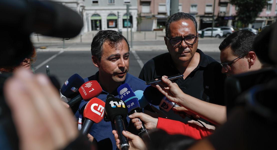 Motoristas: Governo reúne-se 3.ª feira com sindicato e Antram se greve for desconvocada hoje