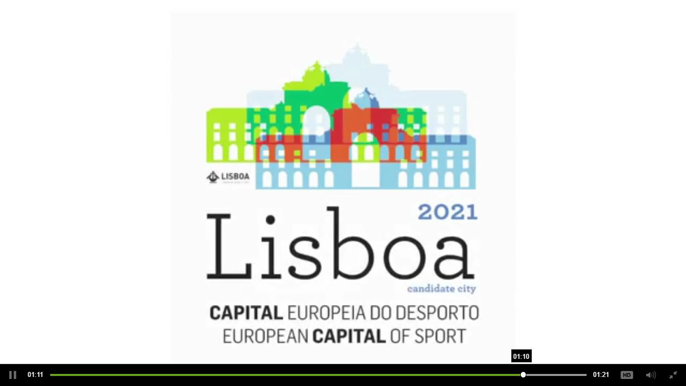 Fed. de Voleibol apoia Lisboa Cidade Europeia do Desporto