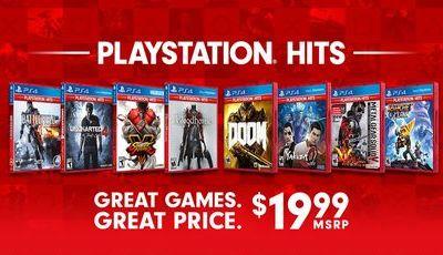 PlayStation Hits traz os clássicos de outros anos de volta à PlayStation 4