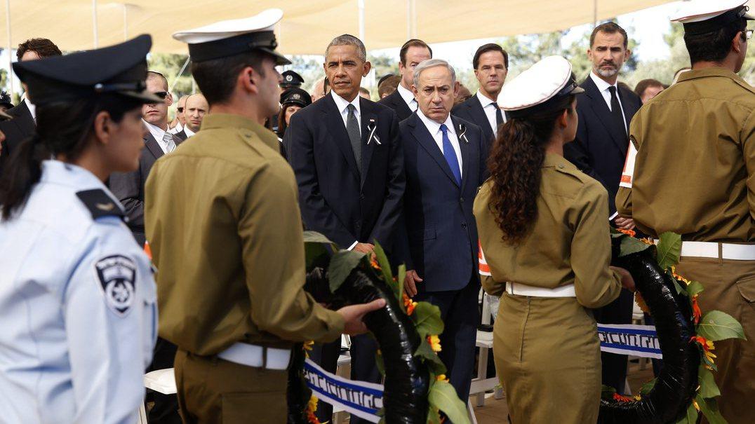 """Emoção na despedida a Shimon Peres. """"Israel chora por ele, o mundo chora por ele"""""""