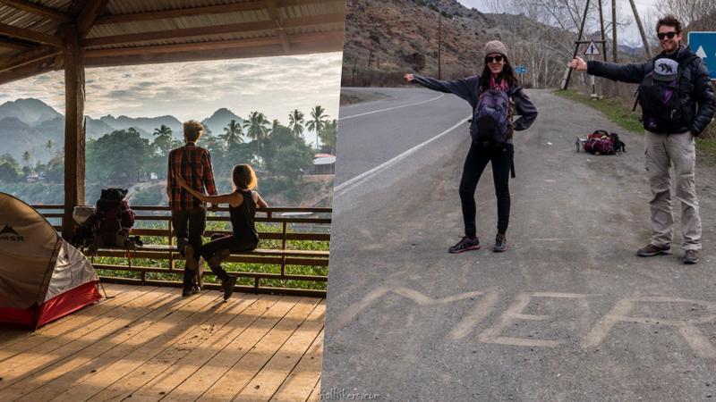Este casal está a viajar por todo o mundo sem nunca entrar num avião