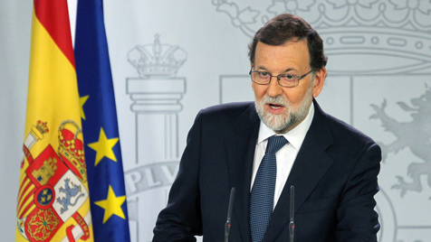 A intervenção na Catalunha