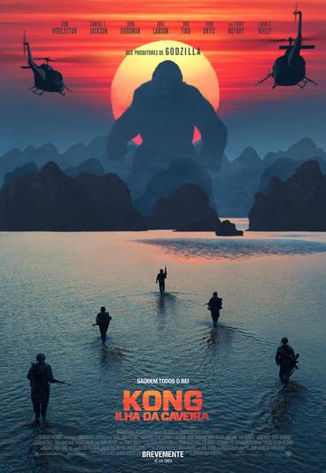 """Ganhe convites para as antestreias de """"Kong: Ilha da Caveira"""""""