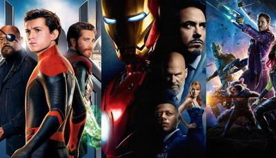 """Do pior para o melhor e já com o novo """"Homem-Aranha"""": todos os filmes dos super-heróis Marvel"""