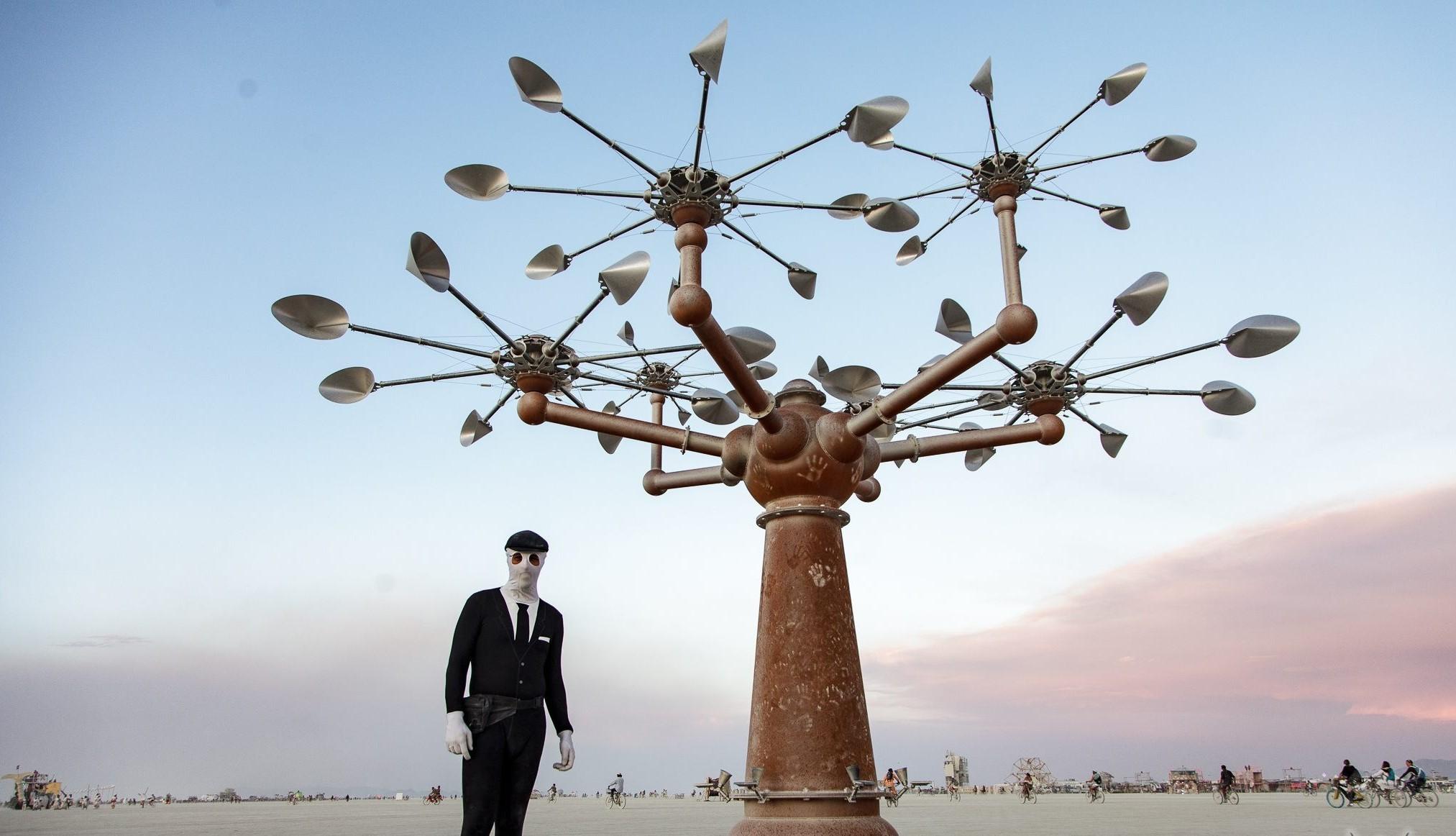 Burning Man. Foram vendidos bilhetes a um preço mais baixo — mas eram falsos