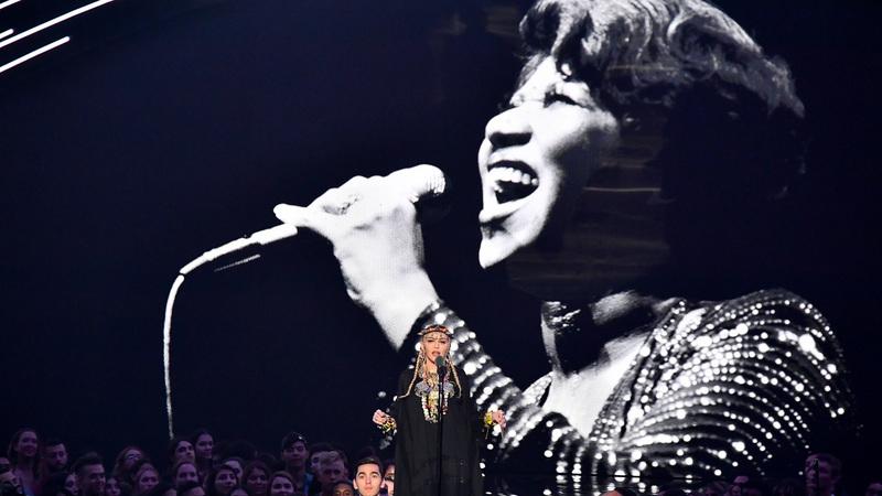 MTV VMAs: depois das críticas, Madonna diz que não pretendia homenagear Aretha Franklin