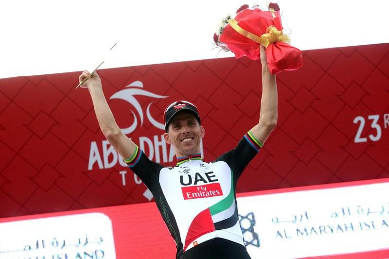Rui Costa lidera UAE Team Emirates na Volta a Itália