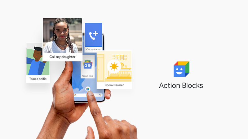A Action Blocks promete tornar mais fácil a utilização de smartphones e tablets Android