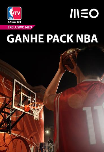 Ganhe um Pack de prémios NBA