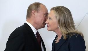 Da Rússia, Hillary pode esperar tudo menos amor