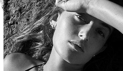 O fotógrafo Mario Sorrenti contou com a ajuda da filha para reimaginar o Crème de La Mer