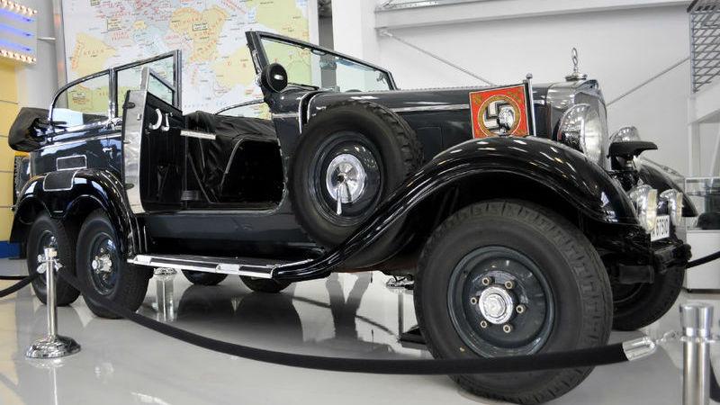Este Mercedes de Adolf Hitler não encontra comprador nos EUA