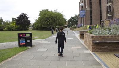 Inglaterra: Dormir numa universidade em família