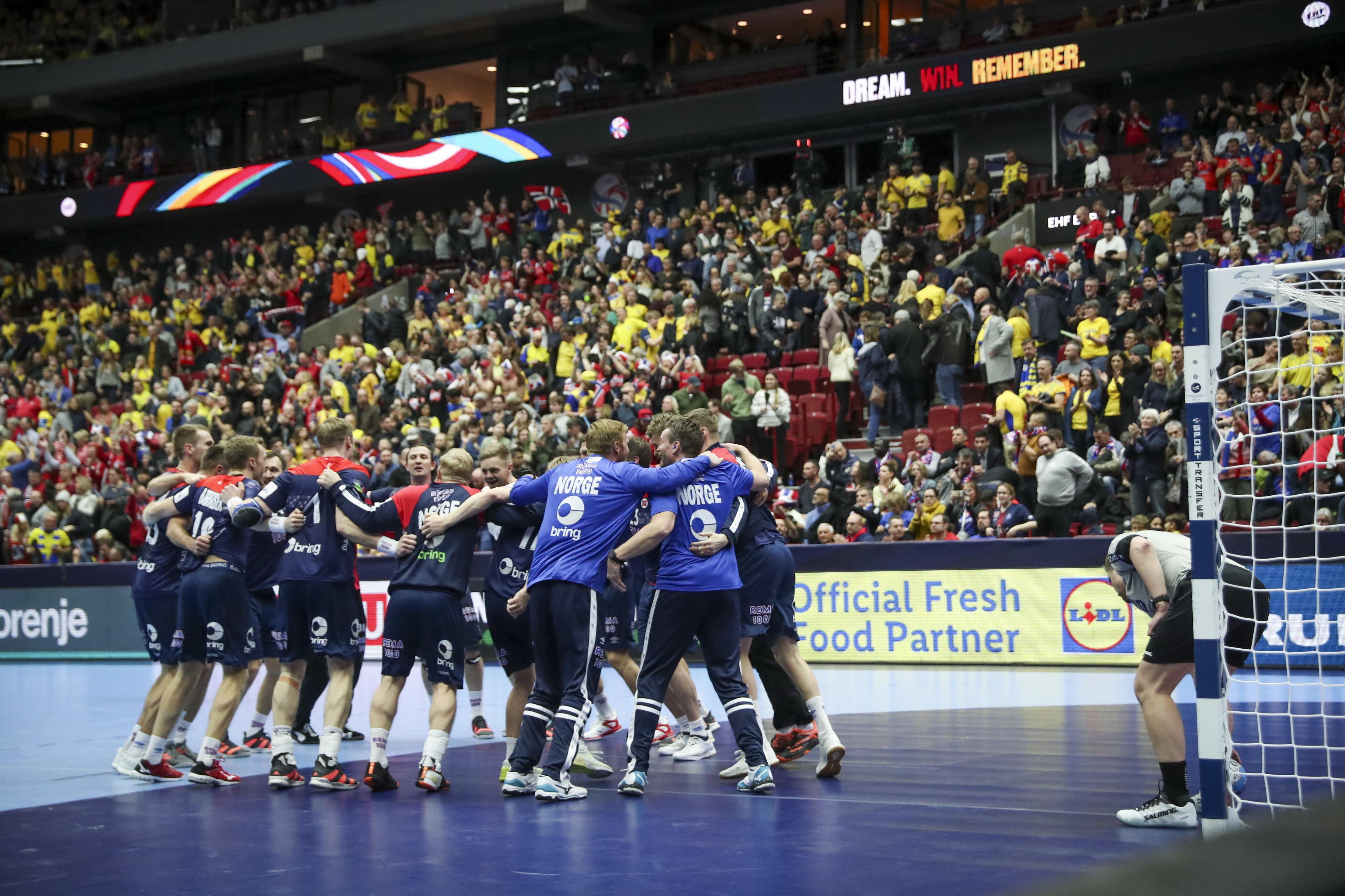 Andebol/Europeu: Noruega isola-se no grupo II da ronda principal e tem uma 'mão' nas meias-finais