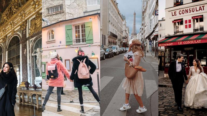 """Os lugares mais """"instagramáveis"""" de Paris"""