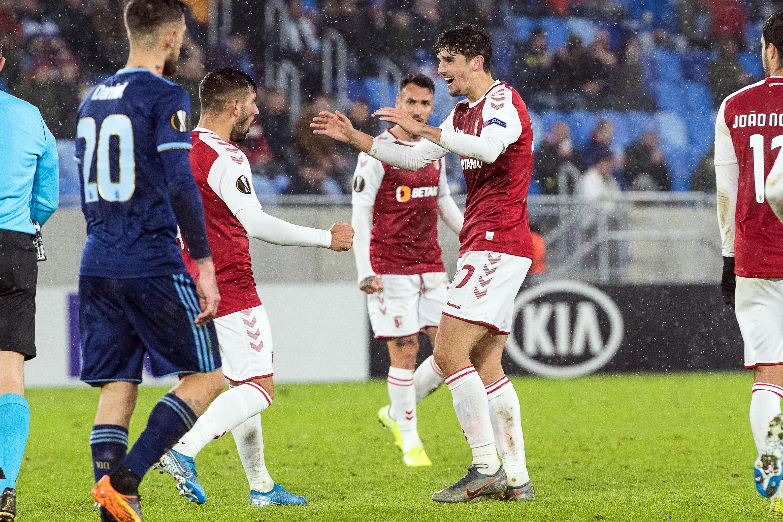 Sporting de Braga ganha em Bratislava e conquista Grupo K da Liga Europa
