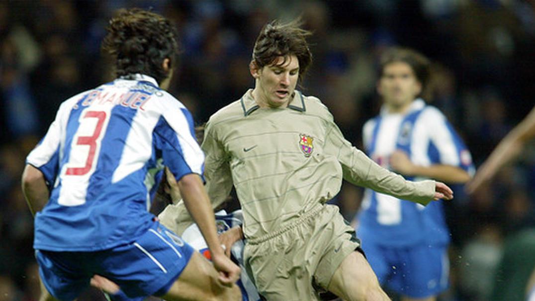 Foi há 15 anos que o Dragão apadrinhou a estreia de Lionel Messi