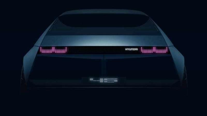 Novo EV Concept『45』da Hyundai vai a Frankfurt