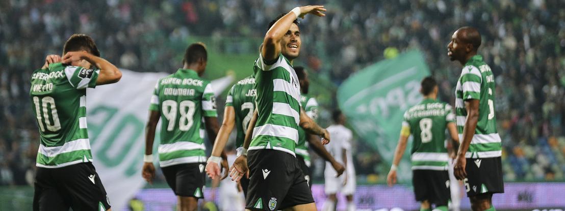Sporting: Acuña fora dos convocados para a receção ao Boavista