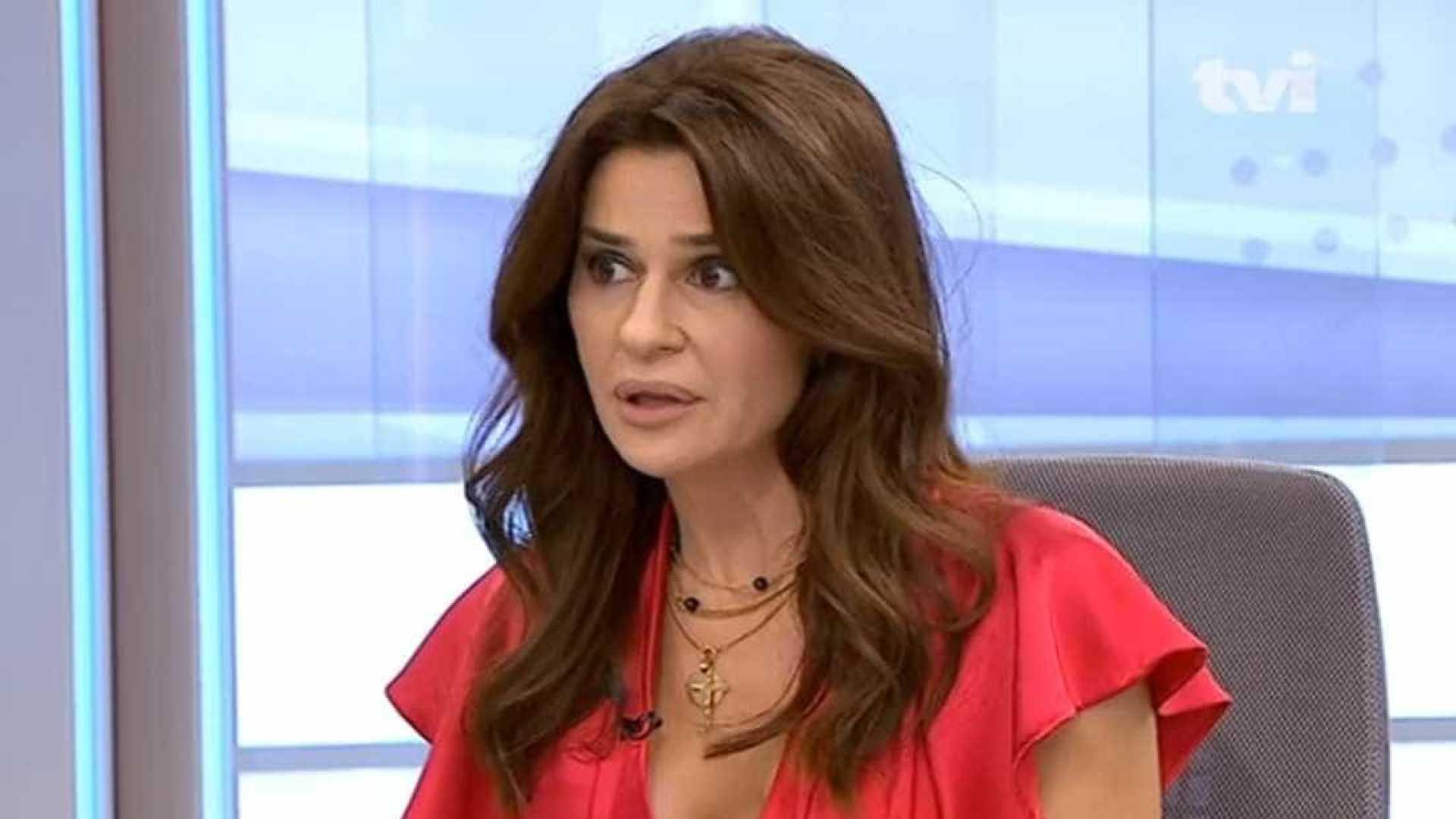 """Sofia Aparício: """"Não é porque estou assim vestida que estou a pedi-las"""""""