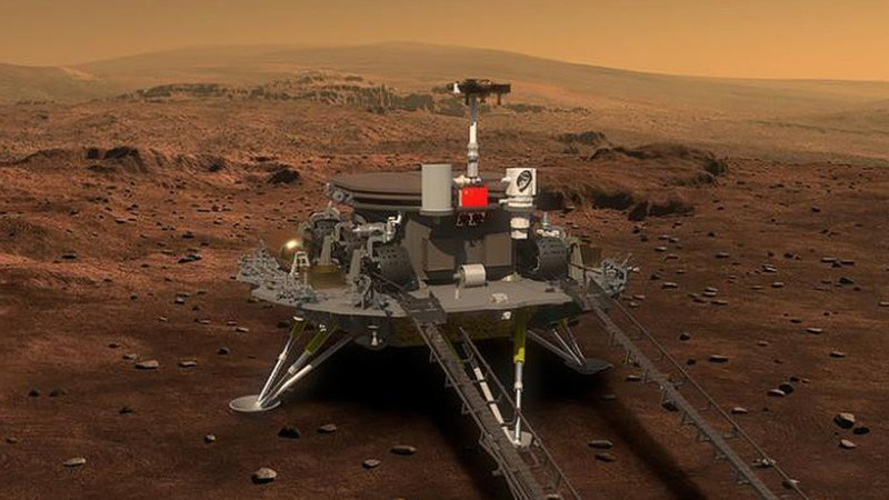 """""""Corrida"""" contra a NASA: China prepara-se para enviar sonda e rover para Marte em julho"""
