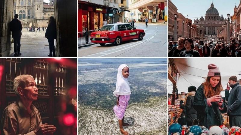 Viagens de Instagram: quanto mais longe melhor