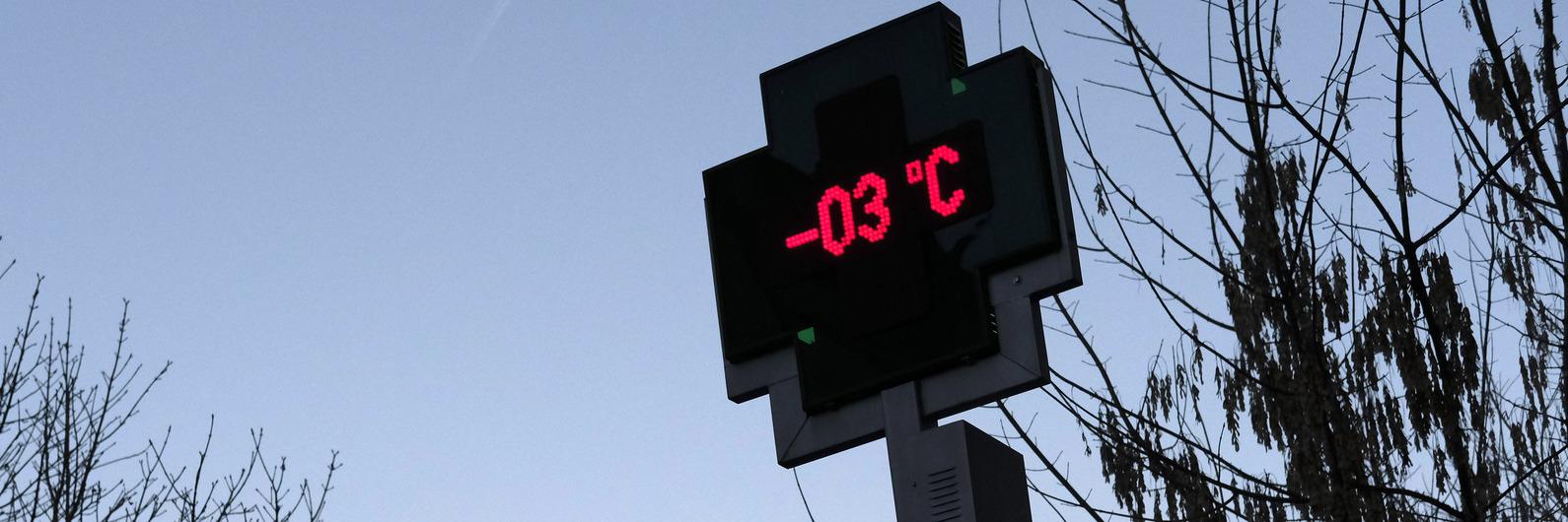 Aviso laranja em quatro distritos por causa do frio