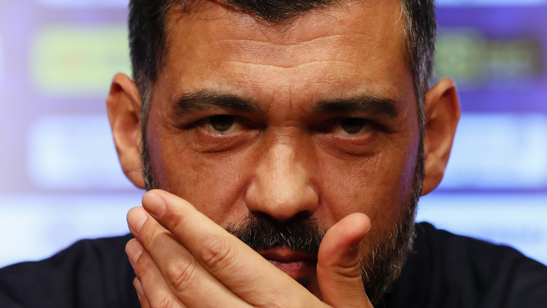 """Sérgio Conceição: """"Estamos na frente e só dependemos de nós"""""""
