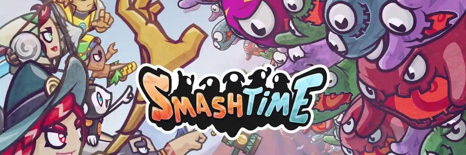 O Smash Time é português e está nomeado para Jogo do Ano