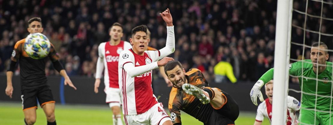Valência vence Ajax, apura-se e atira os holandeses para a Liga Europa. Chelsea bate Lille e garante 'oitavos'