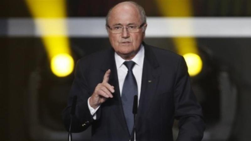 """Blatter: """"Vou ao Mundial a convite de Putin"""""""