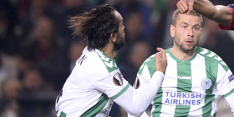 Konyaspor derrotado e em penúltimo lugar da Liga Turca
