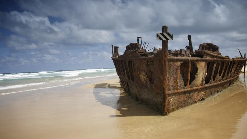 12 navios naufragados que ainda pode visitar