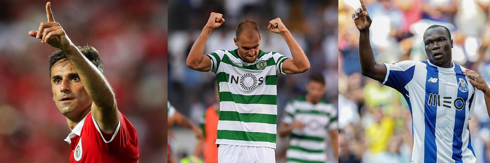 31 golos marcados na terceira jornada