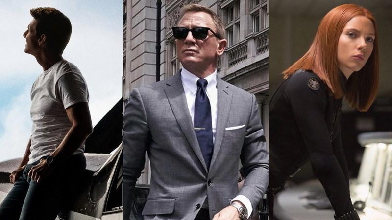"""De """"Top Gun"""" a """"007"""": os filmes que não pode perder este ano"""