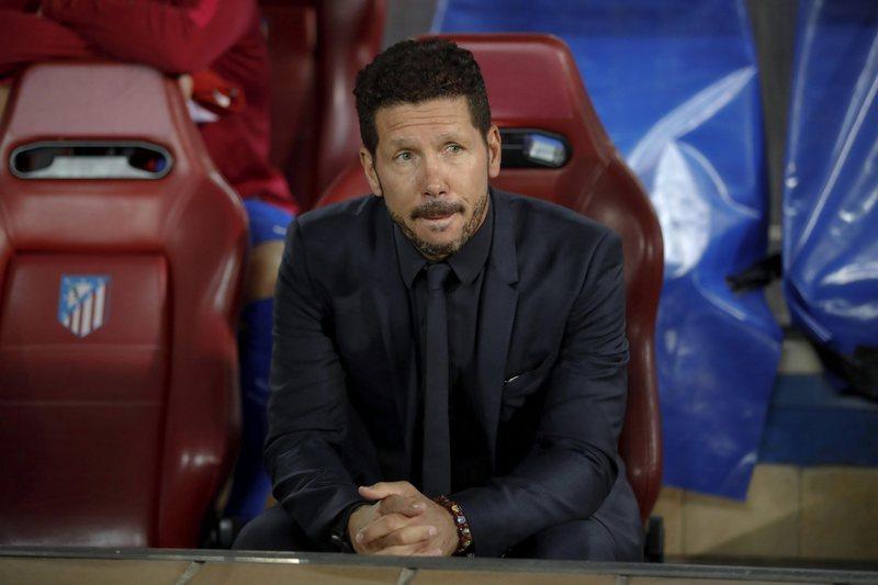 Se Simeone for para o Inter poderá escolher o seu salário