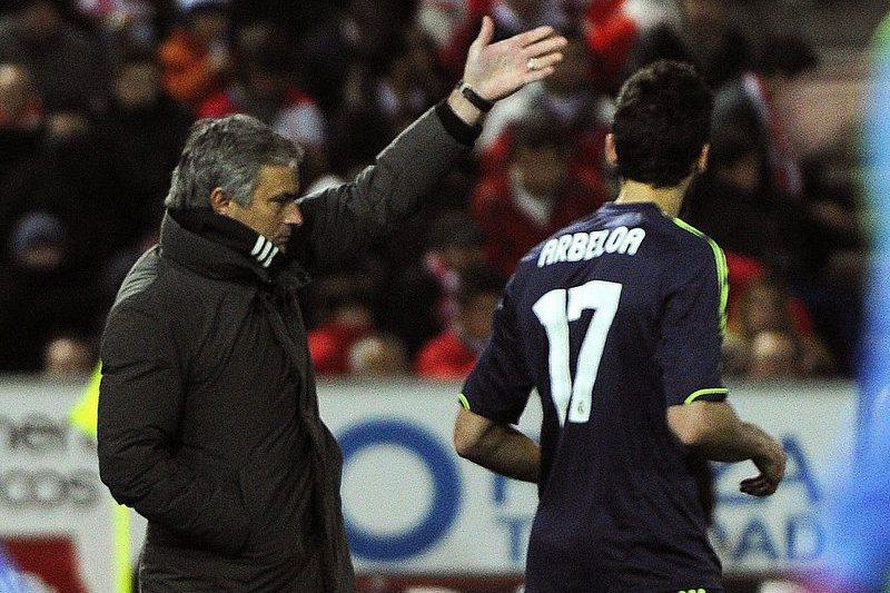 """Mourinho reage à retirada de Arbeloa: """"O futebol precisa de Homens"""""""