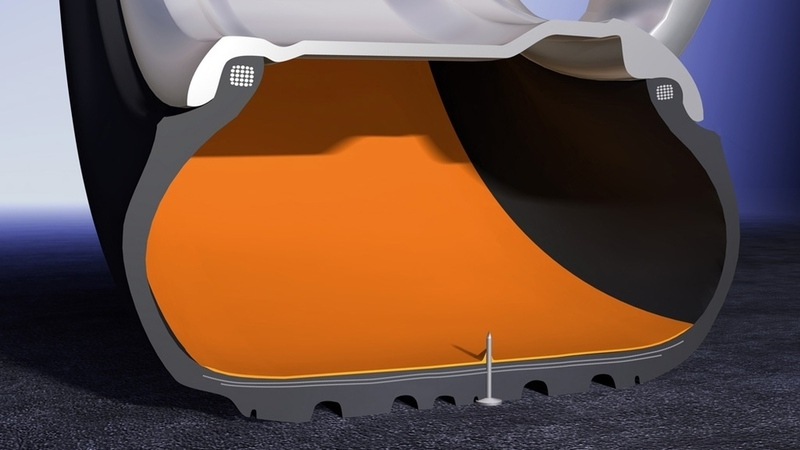 O que são pneus Run Flat?