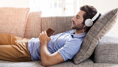 Música que acalma e canções que curam