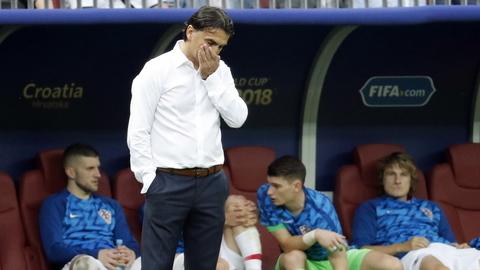 """Zlatko Dalic: """"O penálti foi um golpe duro mas temos de estar satisfeitos e orgulhosos"""""""