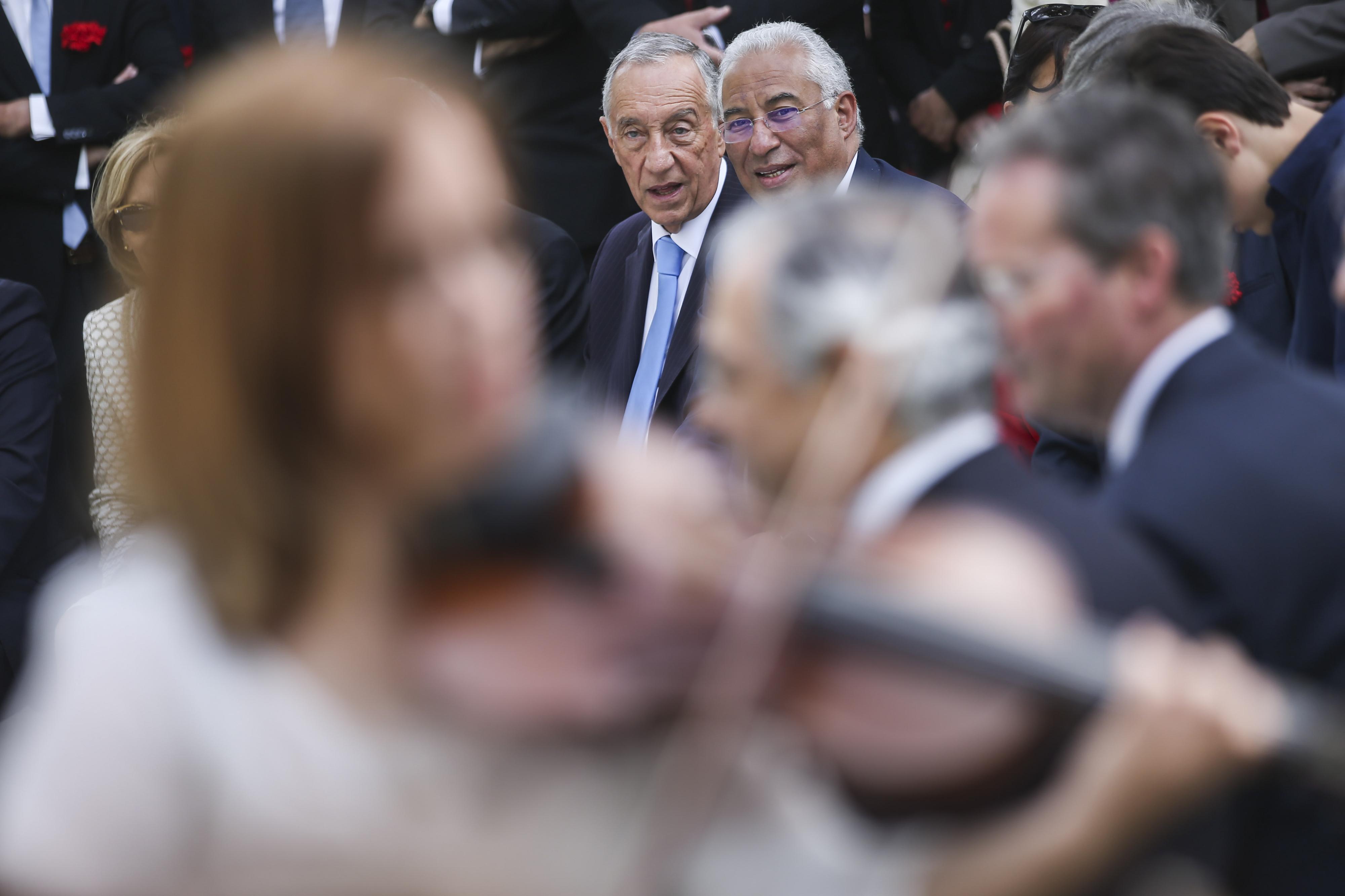 António Costa: Só Marcelo pode esclarecer o que disse sobre messianismo