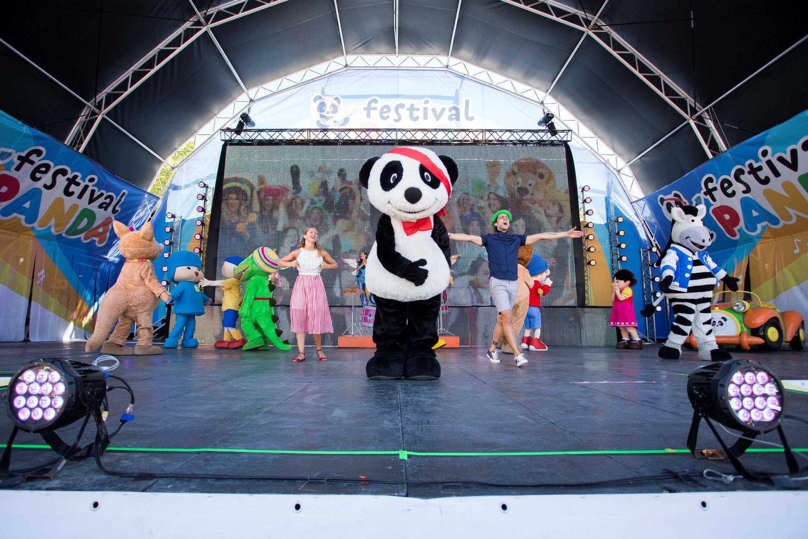 Boas notícias para os mais pequenos: Festival Panda regressa em 2021