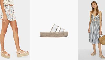 Tendência: flatform o novo modelo do verão