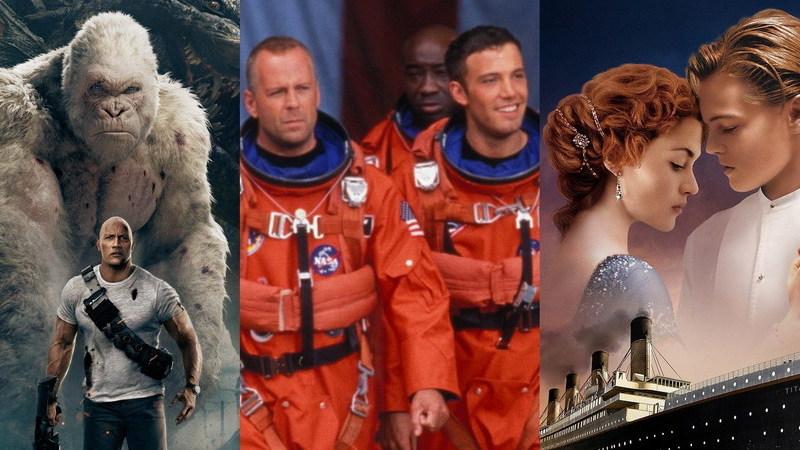 "De ""Rampage"" a ""Armaggedon"": 30 filmes em que o caos tomou conta do grande ecrã"