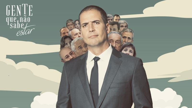 """Ricardo Araújo Pereira """"entrevista"""" Palito e jibóia para promover novo programa"""