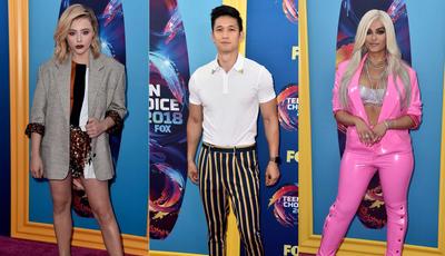 Os 20 looks mais coloridos e arrojados da gala dos Teen Choice Awards