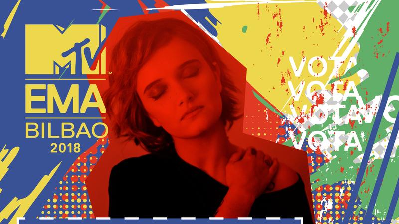 MTV EMAs: demos tempo de antena aos candidatos portugueses. Ouça Carolina Deslandes