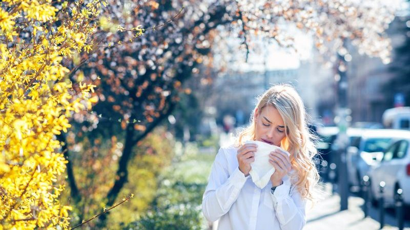 Não deixe as alergias controlarem a sua vida na primavera
