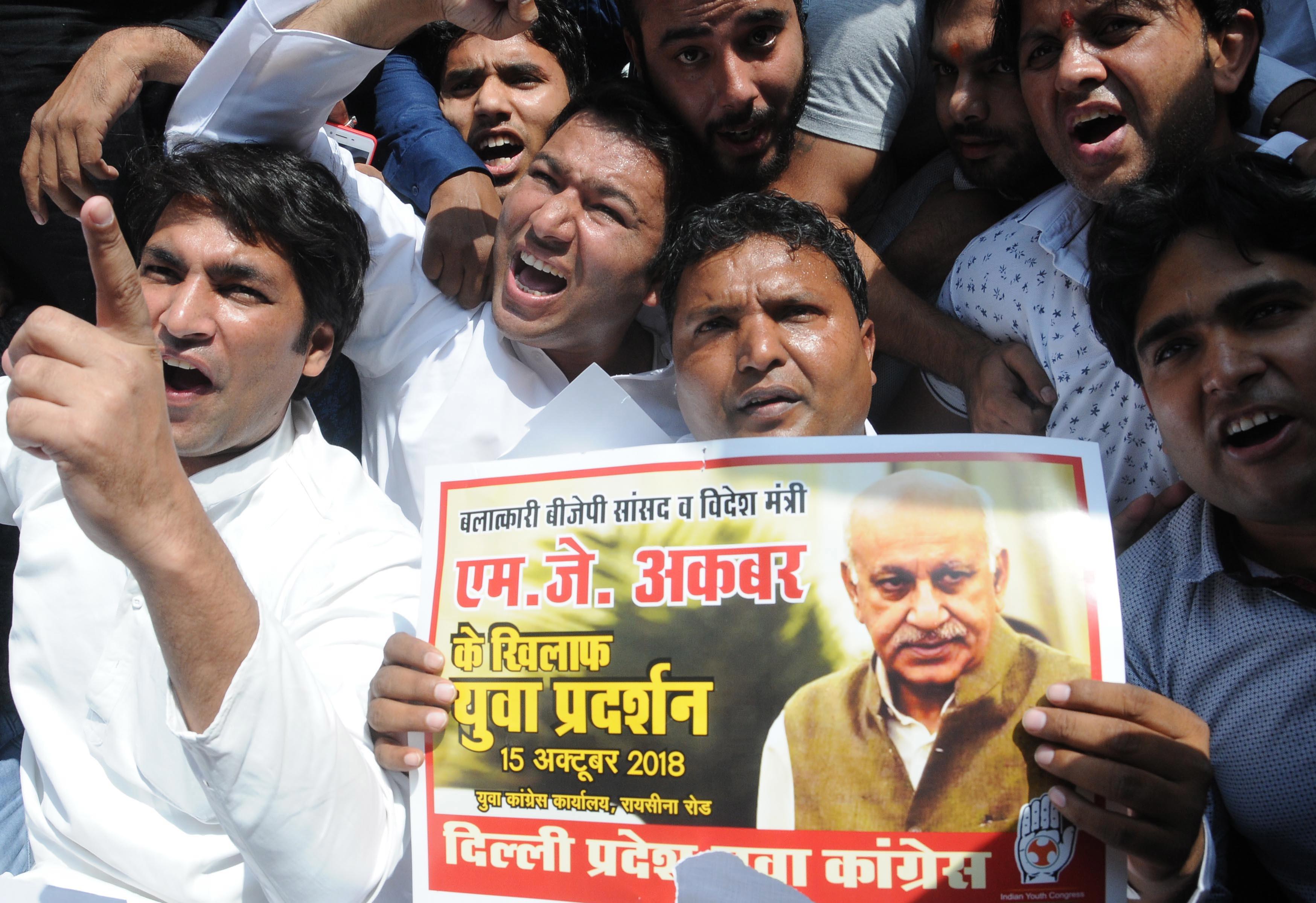 Ministro indiano acusado de assédio sexual demite-se